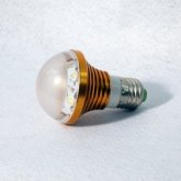 5w Golden LED bulbs,arrival within 5 days,retail accepted